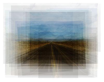 highway. Fotoillustration für Persona Non Grata Magazin