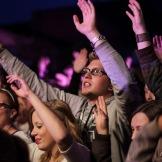 Publikum beim Pohlmann-Auftritt beim Stereopark Festival Open Air im Starndsalon Lübeck am 10.08.2013