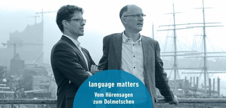 Teamfoto Language Matters Dolmetscher