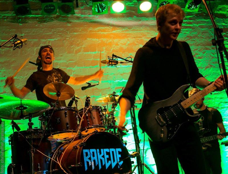 "RAKEDE beim Stereopark Festival 14 ""plugged"" am 8.11.2014 im Werkhof Lübeck"