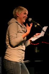 Leonie Warnke, Poetry Slam Filmhaus Lübeck November 2014. christoffer.greiss.photo