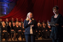 Schirmherrin Kathrin Weiher, Kultursenatorin der Stadt Lübeck