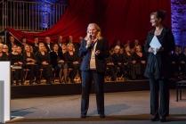 Schirmherrin Kathrin Weiher, Kultursenatorin der Stadt Lübeck und Initiatorin Gabriele Pott