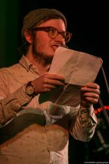 Jason Bartsch // Poetry Slam 13.02.2016 Lübeck // christoffer.greiss.photo