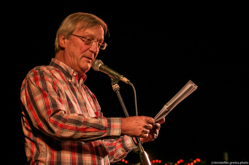 Günther Nacken // Poetry Slam 9.1.2016 Lübeck //christoffer.greiss.photo