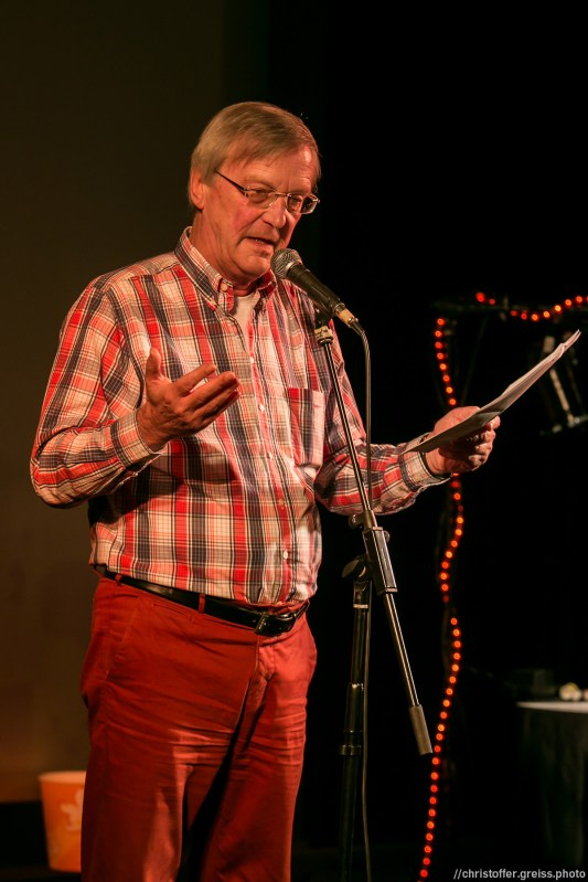 Günther Nacken // Poetry Slam 9.1.2016 Lübeck //christoffer.greiss.photo