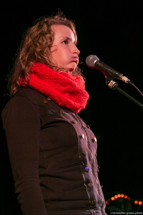Monika Mertens // Poetry Slam 12.03.2016 Lübeck // christoffer.greiss.photo