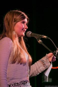 Annalouise Falk // Poetry Slam 12.03.2016 Lübeck // christoffer.greiss.photo