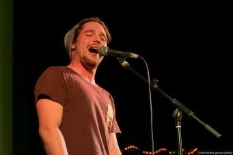 Jonas Scheiner // Poetry Slam 12.03.2016 Lübeck // christoffer.greiss.photo