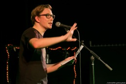 Tom Schildhauer // Poetry Slam 12.03.2016 Lübeck // christoffer.greiss.photo