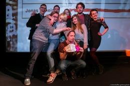Gruppenbild // Poetry Slam 12.03.2016 Lübeck // christoffer.greiss.photo