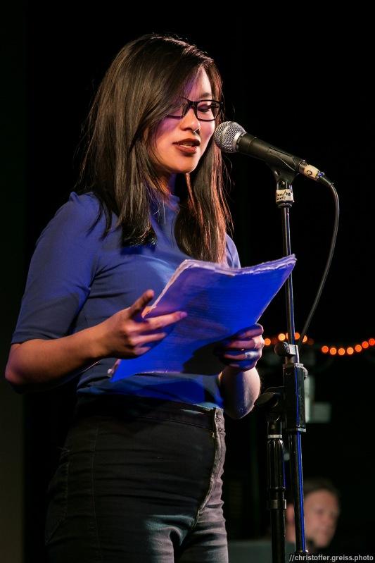 Nih Lee @ Poetry Slam Filmhaus Lübeck 14.05.2016