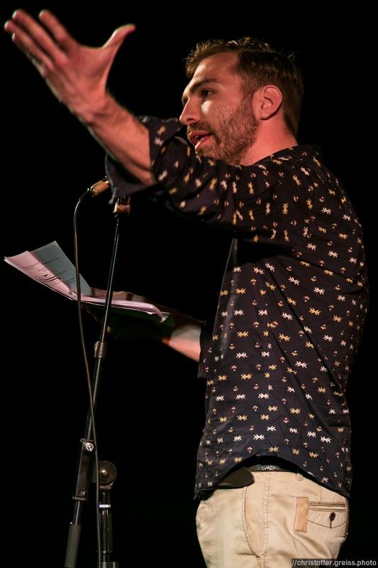Gerrad Schueft @ Poetry Slam Filmhaus Lübeck 14.05.2016