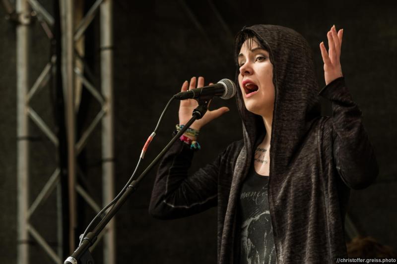 Maria Victoria @ Hanse Poetry Slam @ EHM Lübeck 2016
