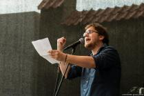 Michel Kühn @ Hanse Poetry Slam @ EHM Lübeck 2016