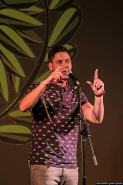 David Friedrich @ Schleswig-Holstein Poetry Slam Meisterschaft 2016
