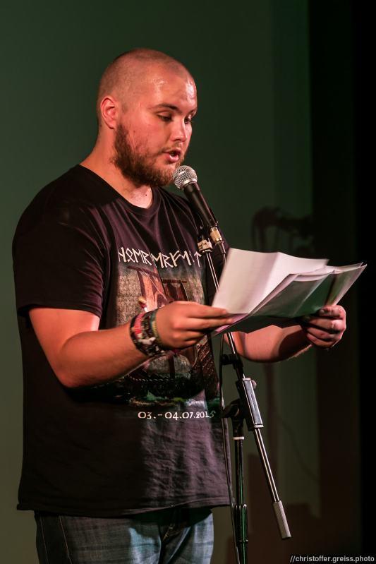 Dennis Boysen @ Schleswig-Holstein Poetry Slam Meisterschaft 2016