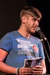Felix Kaden beim Slamarama Poetry Slam 12.03.2017 in Lübeck