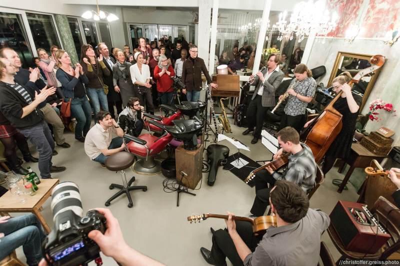 wolkenkuckucksheim.tv Aufnahmesession März 2017 mit dem Monaco Swing Ensemble