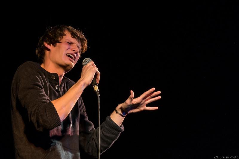 Danny Koch beim Best of Poetry Slam am 8.04.2017 im Filmhaus Lübeck