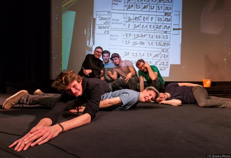 Mit Rainer Holl, Sebastian 23, Danny Koch, Helge Albrecht und ByeBye