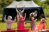 Osteseepiraten beim 4. Family Folk Festival am 4.6.2017 im Geschichtserlebnisraum Lübeck/Kücknitz