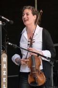 Hazel Bell beim 4. Family Folk Festival am 4.6.2017 im Geschichtserlebnisraum Lübeck/Kücknitz
