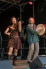 Sangesvolk beim 4. Family Folk Festival am 4.6.2017 im Geschichtserlebnisraum Lübeck/Kücknitz
