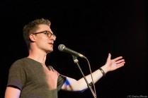 Sebastian Stiller bei den Schleswig-Holstein Poetry Slam Meisterschaft Halbfinale II 2017 Lübeck im Filmhaus