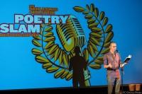 Felix Treder bei den Schleswig-Holstein Poetry Slam Meisterschaft Halbfinale II 2017 Lübeck im Filmhaus