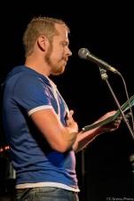 Kai Runge bei den Schleswig-Holstein Poetry Slam Meisterschaft Halbfinale II 2017 Lübeck im Filmhaus