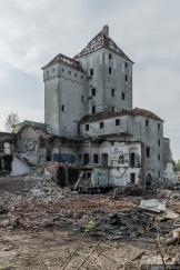 Abriss Haus Sellschopp, Lübeck, Moislinger Allee