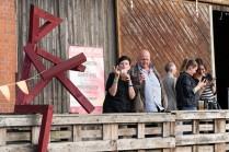 Am 13.7.2019 im Schuppen C, NWHI, Lübeck. Mit Johanna & Friend, Cameo, OH FYO!